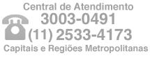 Telefones (11) 4063-4699 / (21) 4063-4699 / (13) 4062-9772